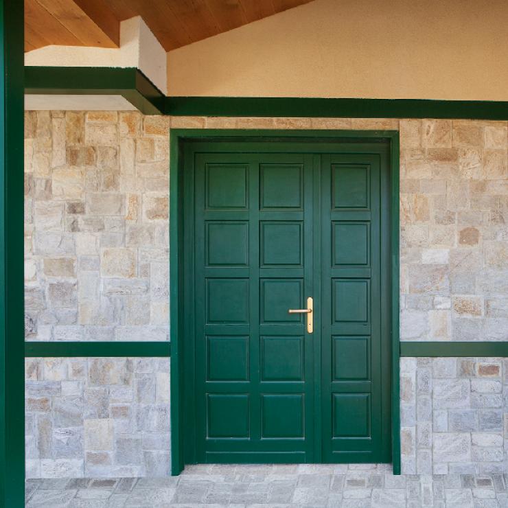 Entrance wood  doors
