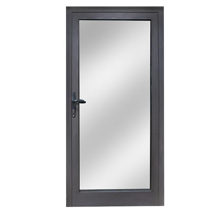 Aluminium interior doors