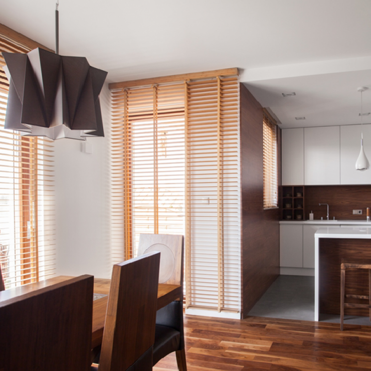 Wood Horizontal Blinds