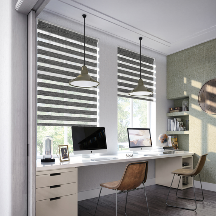 "Rolo Blinds ""Day and Night"""